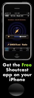 Shoutcast iphone app